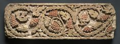 Frieze with Foliage and Grapes, - Egypt, - centuries, Coptic period limestone, Overall: x cm Ancient Egyptian Art, Textiles, Byzantine, Medieval, Symbols, Cleveland, Sculpture, Wallpaper, Painting