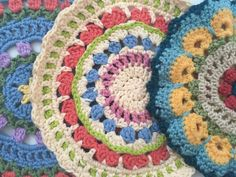 Anonymous Poem and #Crochet Contribution to Mandalas for Marinke + Depression Relapse information