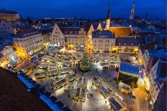 Tallinn Christmas Market with a touch of a fairy tale will be held at the Town Hall Square of Tallinn. Everything is possible at the Christmas Market! The star of the market is the Christmas tree, which. Best Christmas Markets, Christmas Fun, Ends Of The Earth, Europe, Everything Is Possible, Seaside Towns, Amazing Destinations, Continents, Where To Go