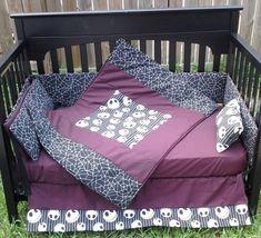 New Nightmare Before Christmas Crib Bedding Set m/w NEW Jack/NBC fabric. $300.00, via Etsy.