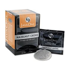 JAV70506  Genicom Java One Single Cup Coffee Pods Hazelnut Crme 14 PodsBox 70506  JAV70506 >>> Click image to review more details.