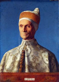 Giovanni Bellini Dogen Leonardo  Tarih: 1501  OrijinalBoyut: 61,5 x 45 cm  Yer: National Gallery, Londra