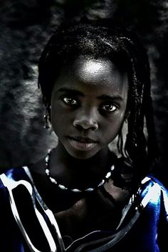 Africa-- Black is so elegant and stunning!