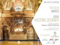Sono aperte le iscrizioni per la nuova edizione 2017 WEDDING DESIGNER ! Per info come sempre scrivete a corsi@silviadeifiori.com