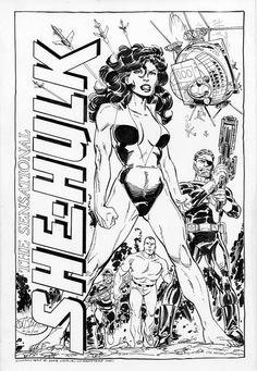 She-Hulk •John Byrne