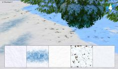 Snow Terrain Paints at 27Sonia27 via Sims 4 Updates Check more at http://sims4updates.net/terrain-paints/snow-terrain-paints-at-27sonia27/ #Sims4