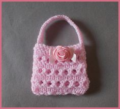 marianna's lazy daisy days: Mini Gift Purses ~ Knit