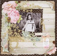 isn't she lovely papers with Kaisercraft blossom die. www.craftqueen.com.au
