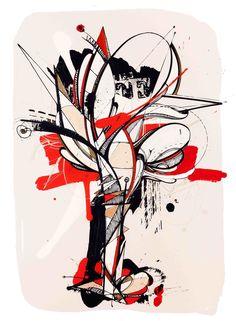 Romain Froquet - Empreinte Graffiti Art, Paris France, Trash Polka, Drawing Techniques, Drawing People, Rock Art, Art Tutorials, Fiber Art, Illustration