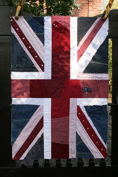 Quilted Union Jack