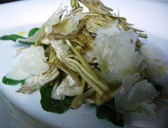 Insalata di Carciofi ~ Zesty Artichoke Salad (con Parmigiano)
