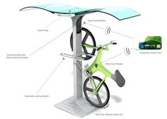 Solar Powered Parking And Charging Station
