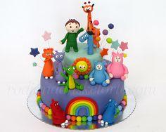 Baby Tv Torta Carli Bim Bam Cuddlies Dragojpg cakepins.com