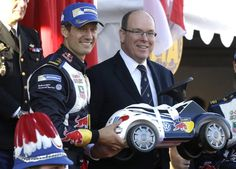 Prince Albert attended the  83rd Monte Carlo Rally