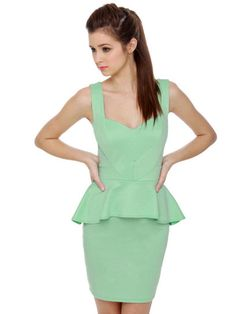 Wear in the World Mint Green Dress: Under $100 Dresses for Prom: Style: teenvogue.com