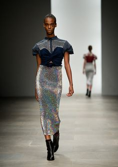 Danielle Scutt Spring 2012 | POPSUGAR Fashion  I really love the skirt