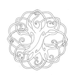 Coloring Page Tree   Printable Coloring Pages