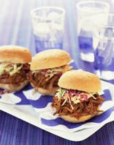 Pulled Pork recipe.  I mixed this and the Martha Stewart recipe and they were scrumptious!