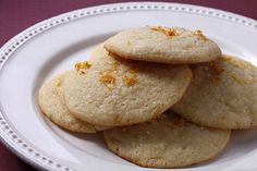 Chewy Citrus Sugar Cookies: These incorporate seasonal citrus fruit to brighten the basic sugar cookie dough. Click here for the recipe. Photo: Craig Lee, Special To The Chronicle / SF