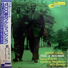 THE THREE SOUNDS / GOOD DEAL / BLUE NOTE / TOSHIBA JAPAN OBI