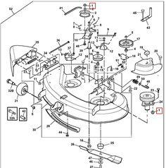 1000 images about john deere mower decks on pinterest John Deere 165 Parts Diagram