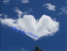 Nuvole messaggi d'amore