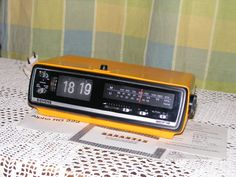 Vintage flip clock alarm radio Retro Siemens Alpha RG 222 great working condition by VintageshopSerbia on Etsy Retro Flip Clock, Retro Alarm Clock, Nostalgia, Antiques, Etsy, Vintage, Antiquities, Antique