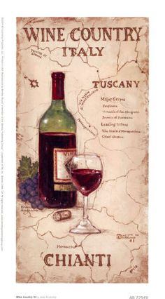 Italian Wine Country, well Tuscany and Chianti to be accurate