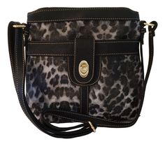 Chicastic Leopard Print City Crossbody Handbag Leopard Print Wedding, Clutch Purse, Crossbody Bag, Animal Bag, Types Of Bag, Working Woman, Black Handbags, Cross Body Handbags, Evening Bags