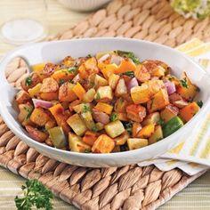 Pommes de terre aux petits légumes et ail - Recettes - Cuisine et nutrition - Pratico Pratique