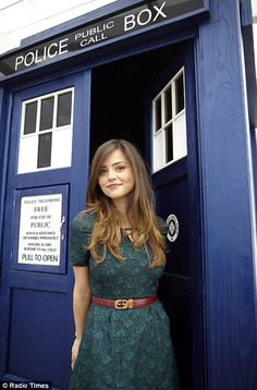 Doctor Who's new companion Jenna-Louise Coleman