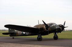 Bristol Blenheim Mk I Battle of Britain airshow, Duxford, 24/9/17