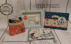 Stamping in Dixie: Summertime, Summertime, Summertime! Stampin' Friends July Blog Hop