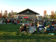 The Nickel Plate District Amphitheater serves as the perfect venue for outdoor concert and events, like this summer's #Jazz and #Blues Festival. #outdoorevents #FishersIN