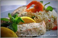 Nasi Goreng Kailan Ikan Masin | Resipi Citarasawan