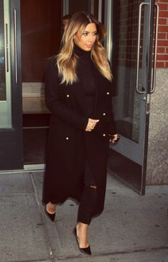 Kim out in NYC