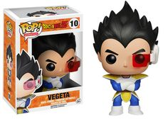 Dragonball Z POP! Animation Vinyl Figur Metallic Vegeta Limited Edition 9 cm