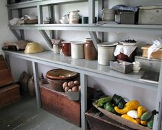 Kings landing historical settlement-from Hazel's flickr . The pantry of my dreams.