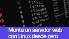 Monta un servidor web con Linux desde cero - Aprende de forma práctica a montar tu servidor web con Linux en el que publicar tus páginas web sobre PHP y MySQL. - $49