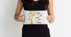 """""""Lights Will Guide You Home"""" Studio Pouches by bubbliciousart 