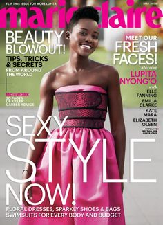 Lupita Nyong'o - Marie Claire Magazine Cover   [United States] (May 2014)