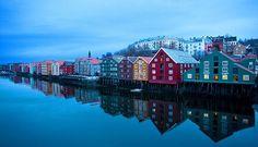 Trondheim (Trunheim), Norway.