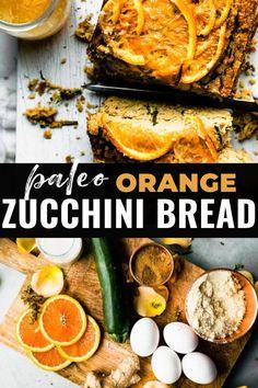 Paleo Recipes Easy, Quick Bread Recipes, Healthy Eating Recipes, Whole 30 Recipes, Dairy Free Recipes, Healthy Cooking, Cooking Recipes, Healthy Eats, Classic Zucchini Bread Recipe