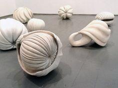 Gudjon Ketilsson at Luise Ross Gallery by John Drury - artnet Magazine Art Sculpture, Abstract Sculpture, Organic Ceramics, Ceramic Techniques, Clay Design, Ceramic Flowers, Contemporary Ceramics, Ceramic Clay, Ceramic Artists