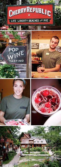 Tart Cherries in Traverse City, Michigan | MattBites.com