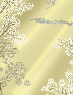 Oriental Tree Foil wallpaper from GP & J Baker