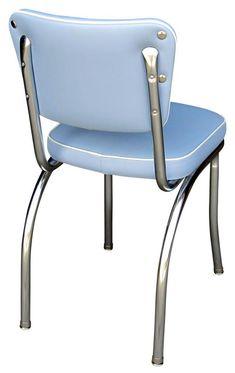 Diner chair - 4210   Retro Chrome Chair   Restaurant Diner Chair