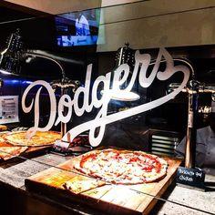 THINK BLUE: Dodgers dinner! #foodie #foodpics #foodporn #yummy #tasty #eat #sofood #sogood #dodgers #pizza #stadiumclub by dudeletseat