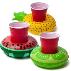 Last newbie alert for now. Fruit floating drink holders. I can't wait for warmer weather