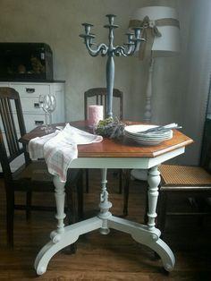 rund esszimmertisch esstisch maison shabby chic antik vintage impressionen m bel wohn. Black Bedroom Furniture Sets. Home Design Ideas